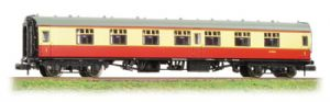 Graham Farish 374-160A BR Mark 1 'FK' First Compartment, Carmine/Cream Livery